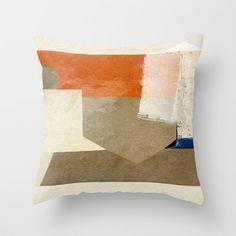 Ponta de Areia Throw Pillow by Fernando Vieira
