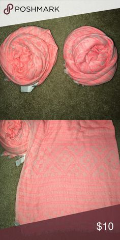 Pink Aztec Scarf New 💰No trades 💸Make me a offer Accessories Scarves & Wraps