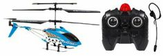 Heli Command 3.5CH Electric RTF Voice Control RC Helicopter (Color May Vary) by World Tech Toys. $39.90. Voice Command. Metal Construction. Ready To Fly. Length: 8 Inches. Built In GYRO. Features:  Electric Powered Built In GYRO 3.5CH Transmitter Coaxial Main Rotor Single Rear Rotor Metal Construction Ready To Fly Voice Commands: Take Off Fly Up Fly Down Backward Forward Turn Left Turn Right Turn Around Spiral Up Drop Down Dance Three Point Maneuver Circle Strafe Orbit Drift Mane...