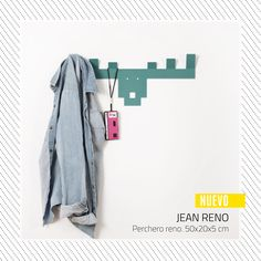 MOLE DESIGN   JEAN RENÓ - PERCHERO www.somosmole.com Jean Reno, Mole, Duster Coat, Jackets, Design, Fashion, Coat Hooks, Down Jackets, Moda