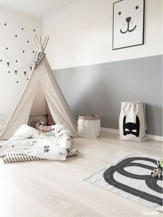 Chloe's Playroom Room Tour - Beautiful Kids Room Girls Room Design DIY kids playroom ideas decor Baby Bedroom, Baby Boy Rooms, Nursery Boy, Calming Nursery, Nursery Decor, White Nursery, Nursery Prints, Bedroom Decor, Casa Kids