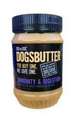 One stop shop for designer dog clothes and accessories - Peanut Butter For Immunity & Digestion (16oz) puppy Treat - Food & Drinks, pet toys, collars, carriers, treats, stunning bowls, diaper, belly bands, id tags, harnesses, apparel