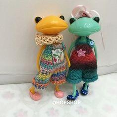 wonderfrog crochet - Google Search
