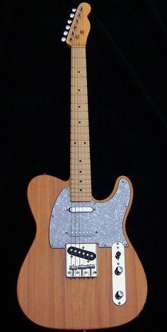 Haywire Custom Guitars-MahoganyNaturalNashvilleTele2 | Flickr Telecaster Guitar, Fender Guitars, Guitar Neck, Guitar Body, Guitar Tips, Guitar Building, Beautiful Guitars, Custom Guitars, Music Instruments