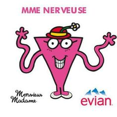 Mme Nerveuse by Sandrine - France #evian #liveyoung #littemiss