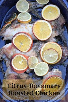Citrus-Rosemary Roasted Chicken Recipe | 5DollarDinners.com