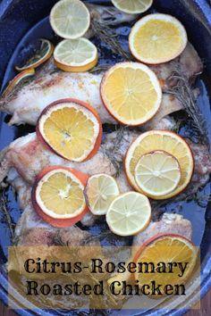Citrus-Rosemary Roasted Chicken Recipe | 5DollarDinners.com