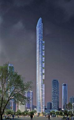 Pentominium, Dubai Marina, 516 m | designer : Andrew Bromberg of Aedas