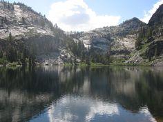 Eagle Lake, above Emerald Bay in Lake Tahoe