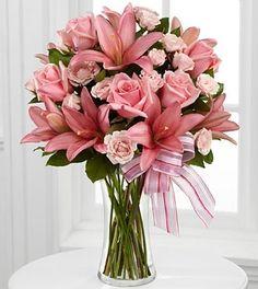 dusty blush bouquet