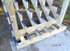 Attaching Bottom Deck Posts | THISisCarpentry More
