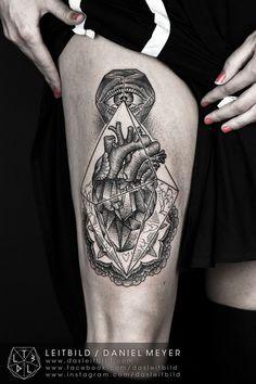 Crystal Heart by Daniel Meyer via...