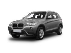 High Mileage BMW X3 4x4 Xdrive20d M Sport 5dr Step Auto [prof Media] Car Leasing - Permonth
