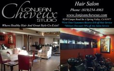 Our staff and management at Lonjean Cheveux Studio are in the business of offering the utmost professional hair care and service, in a warm, serene, and friendly environment. We provide a multicultural atmosphere where everyone is welcome.    Every cut begins with a consultation with your stylist. We listen carefully to what you want to achieve and base our suggestions on your lifestyle, hair texture and condition.