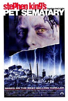 """Cartel película """"El cementerio viviente"""" 1989"""