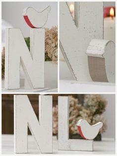 Lettere di legno per scrivere, per decorare, per ricordare