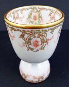 Elegant Antique Limoges Double Tumbler Egg Cup | eBay
