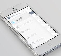 MetroLite App by Alex Lakas, via Behance Dashboard Design, App Ui Design, User Interface Design, Flat Design, Iphone App Design, Simple App, Mobile Ui Design, Mobile App Ui, Ui Design Inspiration