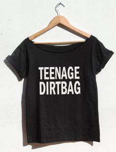 Teenage Dirtbag tshirt Weathus song One Direction by FavoriTee, $23.40