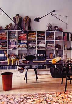 Marianne Brandi's favourite room is their large bright home office.
