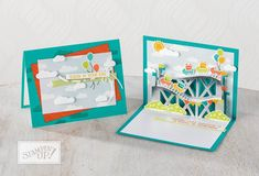 Click the image to visit my blog for lots more crafty inspiration from Lea Denton, The Crafty Spark Stampin' Up! Watch It Wednesday Let The Good Times Roll