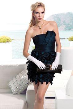 Vestido de Cocktail de Carla Ruiz 2013 - Modelo 88230