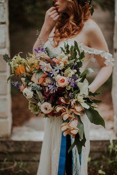 boho wild bouquet