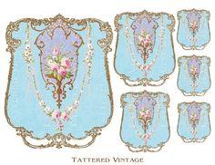 106 Best Cartouche Images Moldings Decoupage Printables