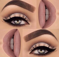 Pageant and Prom Makeup Inspiration. Find more beautiful makeup looks with Pagea… Pageant and Prom Makeup Inspiration. Find more beautiful makeup looks with Pageant Planet. Eye Makeup Tips, Makeup Goals, Skin Makeup, Makeup Inspo, Makeup Inspiration, Makeup Ideas, Makeup Tutorials, Makeup Hacks, Flawless Makeup