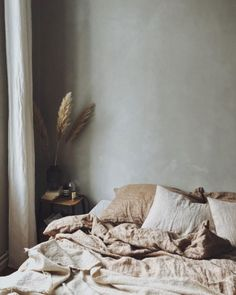 Mediterranean Home Interior .Mediterranean Home Interior Bedding Inspiration, Home Decor Inspiration, Decor Ideas, Grey Bedroom With Pop Of Color, Home Design, Interior Design, Interior Colors, Bed Design, Living Room Decor