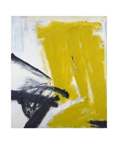 Zinc Yellow, 1959 by Franz Kline