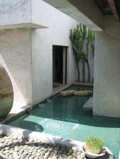 Southern Garden Architecture Innenhof, Garten Terrasse, Cube Haus,  Herrenhaus, Stadthaus, Schwimmbecken