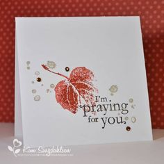 LIM: One Layer with Prayers by atsamom - Cards and Paper Crafts at Splitcoaststampers