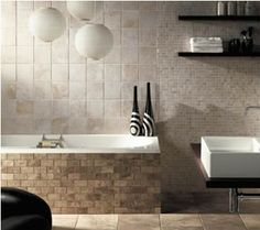 tile tiberina shower design pattern