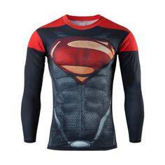 Marvel Compression Bodybuilding Long Sleeve Tshirt https://www.bodybuildingtanks.com