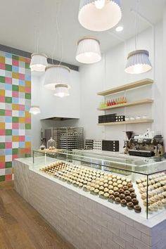 000575 Joy Cupcakes shop Balcões de atendimento pelo mundo