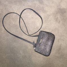 Nine west multi pouch mini crosbody bag Brand new never never shimmery dark grey multi pouch mini cross body bag. Nine West Bags Crossbody Bags