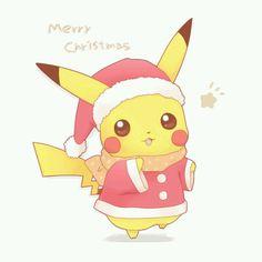 Merry Christmas Pikachu! :-)