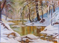 In the deep mid winter - iSue Bates pastel nspired from paintng by Walter Launt Palmer