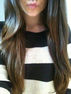 shiny, healthy hair.