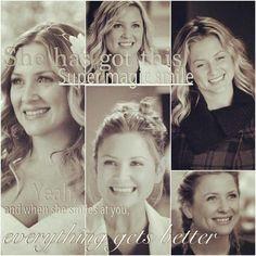 She has got this.... super magic smile <3 #Calzona #ArizonaRobbins