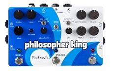 Mint Condition with 6 Month Alto Music WarrantyPigtronix Philosepher's King Guitar Pedal The Pigtronix Philosopher King is a compressor, sustainer, distortion Guitar Multi Effects Pedal, Guitar Effects Pedals, Guitar Pedals, Amplitude Modulation, What Is Play, Distortion Pedal, Music Machine, Fast And Slow, Recording Equipment