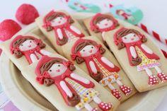 Postreadicción galletas decoradas, cupcakes y pops: Galletas decoradas: Caperucita Roja