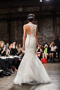Ines de Santo Bridal Market :: the back of this dress is amazing!