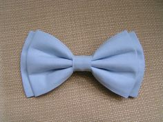 Hair Bow - Light Blue hair bow, hair bows for girls, bow bows, fabric bow, cute bows, beautiful bows, bows for teens