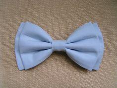 Hair Bow  Light Blue hair bow hair bows for by ClipaBowBoutique, $4.75