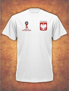 03b2f0543 £7.99 GBP - Koszulka Polska Polish Poland Football World Cup Russia 2018 T- Shirt