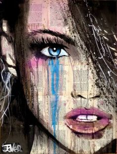 "Saatchi Art Artist Loui Jover; Drawing, ""alive again"" #art"
