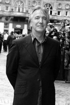 """Alan Rickman. :) if your a real """"potterhead"""" you would know who he plays..."""