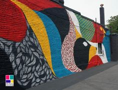 Lelo Broad St Mural 414 West Broad St, Richmond, VA  Artist: Lelo